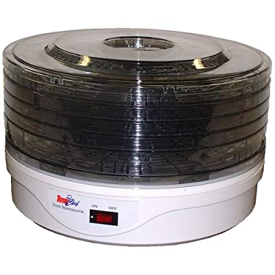 Total Chef TCFD-05 Deluxe 5-Tray Food Dehydrator by Koolatron