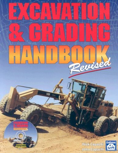 Excavation & Grading Handbook Revised - Craftsman Book Co - CR750 - ISBN: 1572181737 - ISBN-13: 9781572181731