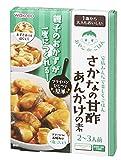 和光堂 おやこdeごはん さかなの甘酢あんかけの素  120g