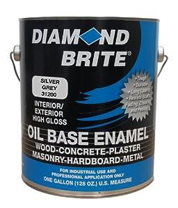 Diamond Brite Paint 31200 1-Gallon Oil Base All Purpose Enamel Paint   Silver Grey at Sears.com