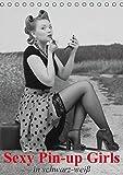 Image de Sexy Pin-up Girls in schwarz-weiß (Tischkalender 2016 DIN A5 hoch): Kesse Pin-up-Gir