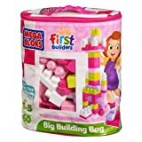 Mega Bloks First Builders Big Building Bags Pink