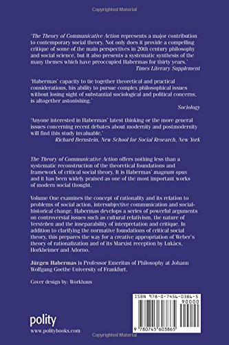 communicative action. essays on jurgen habermas These critical essays on jürgen habermas's major contribution to sociological theory, the theory of communicative action, provide an indispensable guide for anyone.