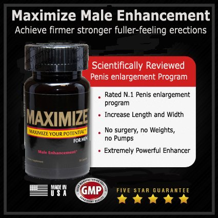 Maximize Male Enhancement Pros and Cons