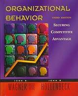 Organizational Behavior by WAGNER