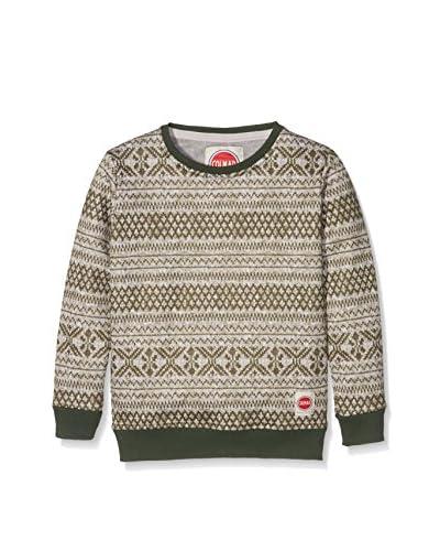 Colmar Originals Sweatshirt Contest grün/grau