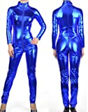 Metallic Blue Fetish Bodysuit Picture
