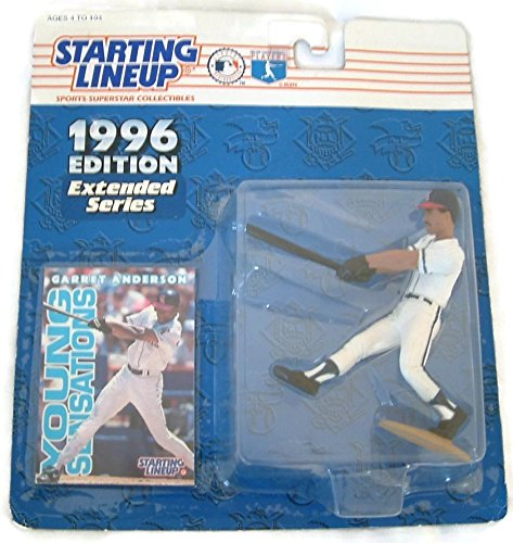 Garret Anderson 1996 Extended Series - Starting Lineup Action Figure & Collector Trading Card