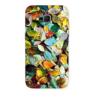 Cute Beautiful Colorfull Leafs Back Case Cover for Galaxy Core Prime