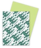 Wausau Astrobrights Cardstock, 65 lb, 8.5 x 11 Inches, Vulcan Green, 250 Sheets (22389)