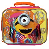 Despicable Me Minions Movie 9.5 inch Love Peace and Happiness Lunch Box