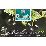 Dilmah Blackcurrant Tea, 20-Count Bags (Pack of 6)