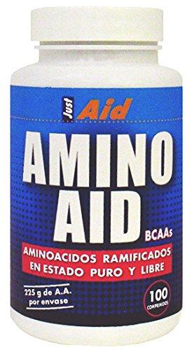 Just Aid Amino Bcaa Aid (Verzweigtkettigen Aminosäuren) 300 Comp.