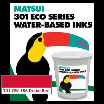 Yudu Compatible Ink Drake Red Matsui Screen Printing Ink