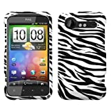 HTC Droid Incredible 2 Protector Case Cover - Zebra