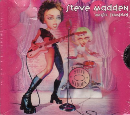 steve-madden-music-sampler-uk-import