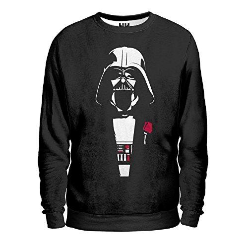 DARTH VADER PADRINO Sweatshirt - Felpa uomo, star wars, parodia, fun, t-shirt