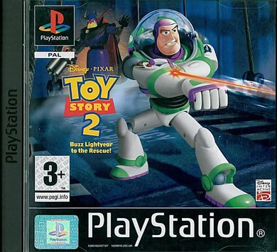 Toy Story 2 Disney Pixar Playstation Game