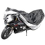 Motorradplane Abdeckplane für Motorräder inkl. Aufbewahrungsbeutel, wasserdicht