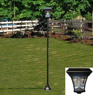solar lamp post light 088515751891. Black Bedroom Furniture Sets. Home Design Ideas
