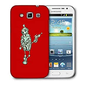 Snoogg Small Robot Designer Protective Back Case Cover For Samsung Galaxy Win i8552