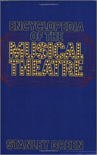 Encyclopedia Of The Musical Theatre (A Da Capo paperback)