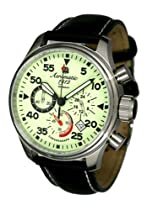 Aeromatic 1912 Luminous Dial Aviator Chronograph A1342