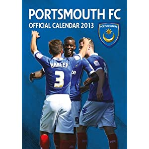 Official Portsmouth Fc 2013 Calendar (Oct 15, 2012)