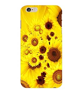 ColourCraft Beautiful Flowers Design Back Case Cover for APPLE IPHONE 6S PLUS