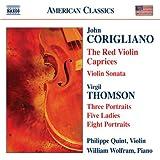 Violin Sonata; Red Violin Capr