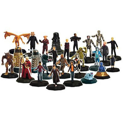 Picture of Character Online Doctor Who Micro-Universe Random Mini Game Figures (3 Pack) (B0010MNQLC) (Character Online Action Figures)