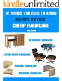 12 Things You Need To Know Before Buying Cheap Furniture (English Edition)