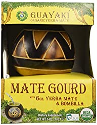 Guayaki Gaucho Gourd Gift Pack with 6 oz of Loose Yerba Mate