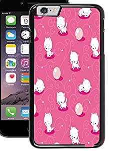 ColourCraft Cute Kitty Design Back Case Cover for APPLE IPHONE 6S