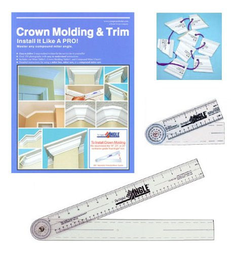 Pkg #10 - Crown Molding & Trim Kit with a set of Crown Molding Templates.