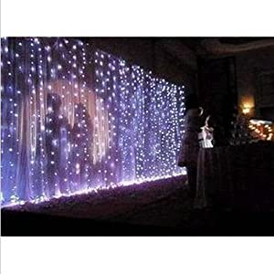 Amazon.com - Ayangyang White Color Led String Light Holiday Fashionable Lights Bedroom Ornament ...
