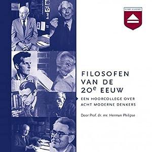 Filosofen van de 20e eeuw Audiobook