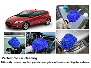 Ohuhu® Multifunctional Wash Mitt, Scratch-free & Swirl-free Car Wash Mitt / Microfiber Mitt by Ohuhu