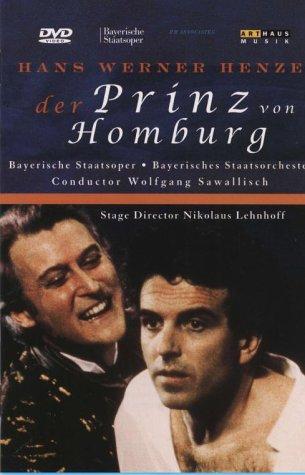 Hans Werner Henze ; Der Prinz Von Homburg [DVD] [2002]