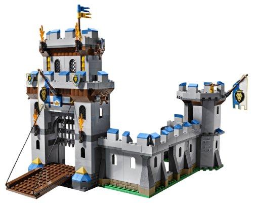 乐高积木城堡拼装图纸