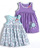 Offspring Infant Girls Two Pack of Dresses Nb-24 Months