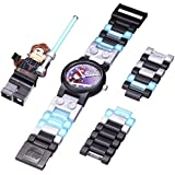 LEGO Kids' 9002052 Star Wars Anakin Stainless Steel Watch With Minifigure
