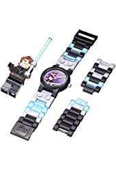 LEGO Kids' 8020288 Star Wars Anakin Plastic Watch With Minifigure