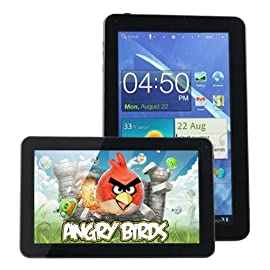 AGPtek® 10.1 inch Android 4.0 Capacitive Touch Screen Tablet PC (Wi-Fi G-sensor, ARM Cortex A9 1.2GHz, 1GB DDR3, 8GB built-in Capacity)
