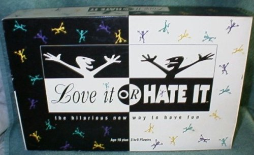Love It or Hate It Conversational Party Game By Tyco