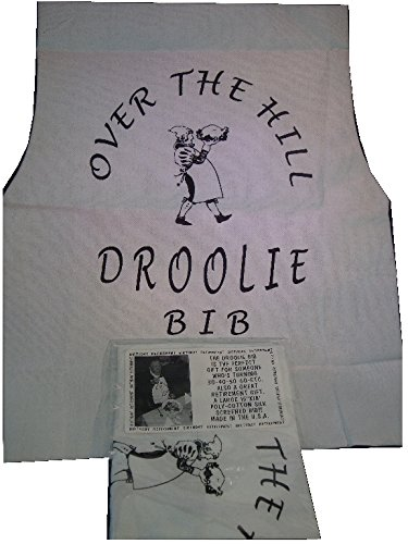 Leister Over the Hill Droolie Bib