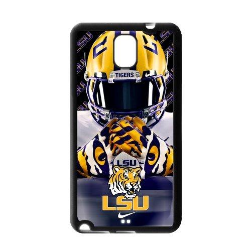 Purple Protective NCAA Lsu Tigers Samsung Galaxy Note 3 Case Cover TPU University Football Nike just do it logo Helmet