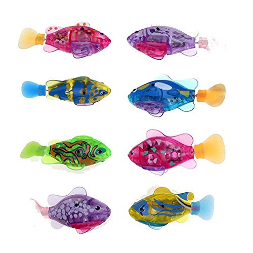 Fanala Robofish Activated Battery Powered Robo Fish Toy Childen Kids Robotic Gift (Robot Fish compare prices)