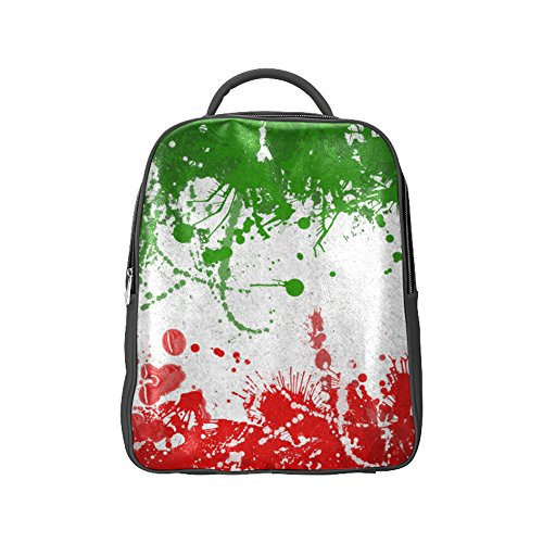 COLORSFORU(TM) Hungary National Flag Backpack Satchel School Book Bag (Patriots Coleman Cooler compare prices)