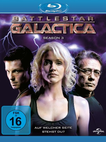 Battlestar Galactica - Season 3 [Blu-ray]